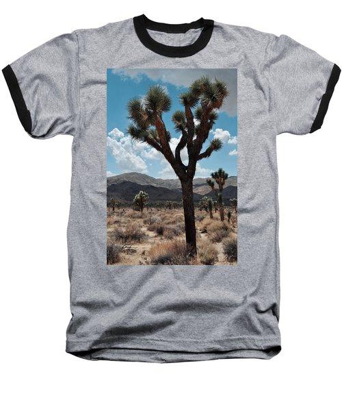 Hidden Valley Joshua Tree Portrait Baseball T-Shirt