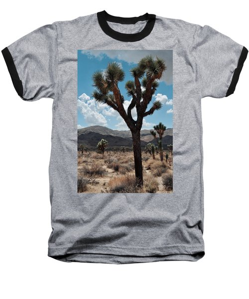 Hidden Valley Joshua Tree Portrait Baseball T-Shirt