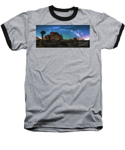 Hidden Valley Milky Way Panorama Baseball T-Shirt