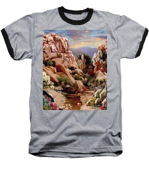 Hidden Valley Trail Baseball T-Shirt by Ron Chambers