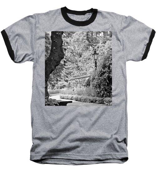 Hiding In Black And White. Baseball T-Shirt