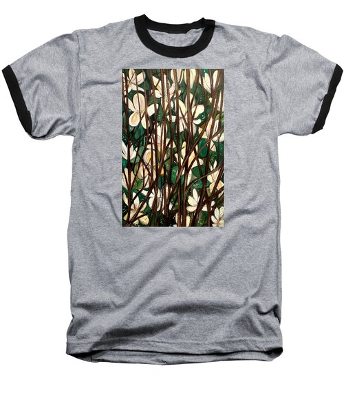 Hiding In Plain Site Baseball T-Shirt by Lisa Aerts