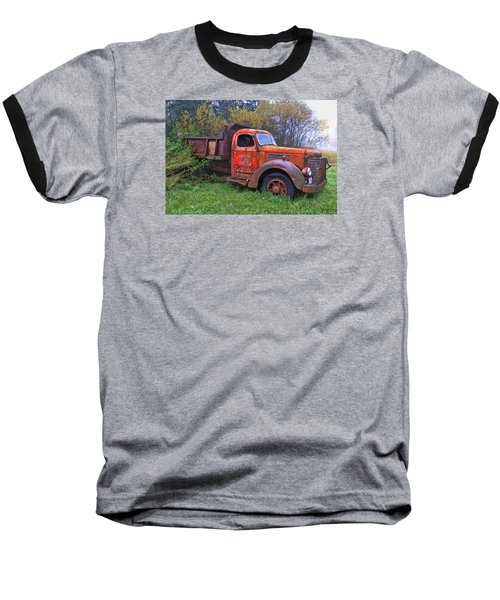 Hiding In The Bushes Baseball T-Shirt
