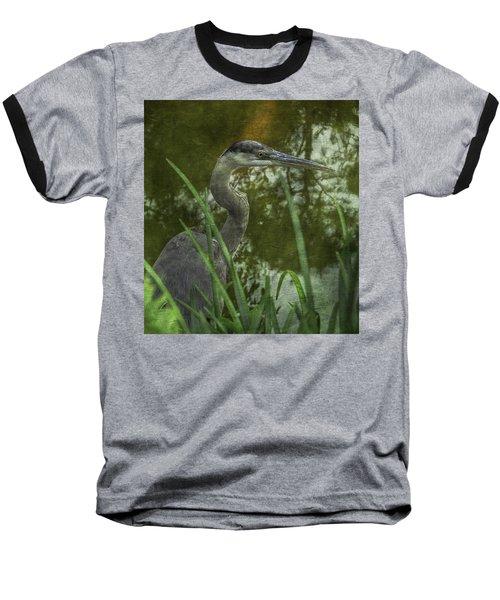 Hiding In The Grass Baseball T-Shirt