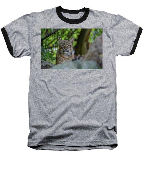 Hiding In The Rocks Baseball T-Shirt