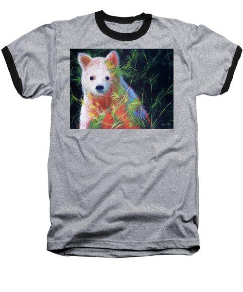 Hiding In The Vines Baseball T-Shirt