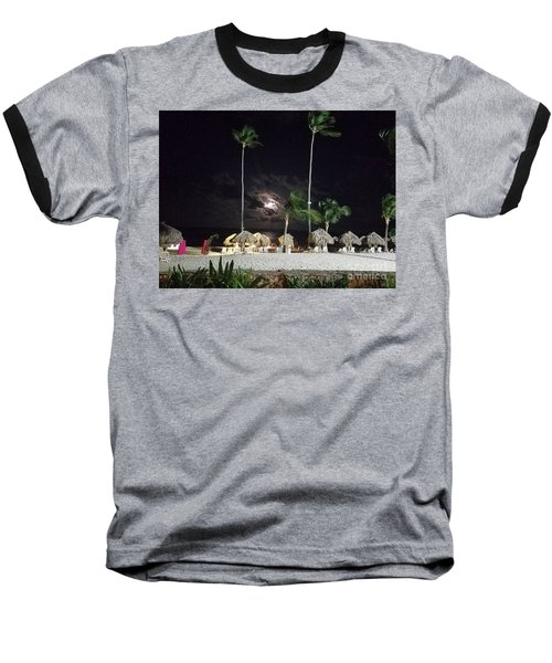 Hiding Moon Baseball T-Shirt