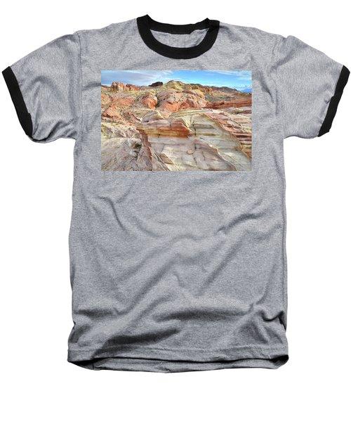 High Above Valley Of Fire Baseball T-Shirt