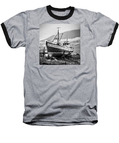 High And Dry Baseball T-Shirt by Brad Grove