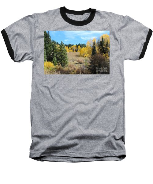 High Country Autumn Colors In Colorado Baseball T-Shirt