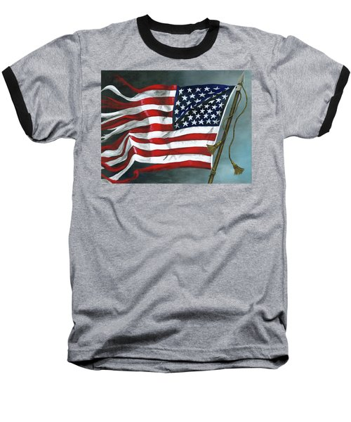 High Crimes And Misdemeanors Baseball T-Shirt