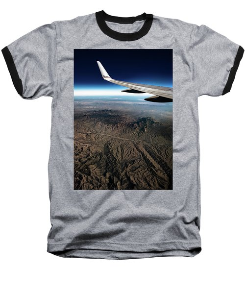 High Desert From High Above Baseball T-Shirt