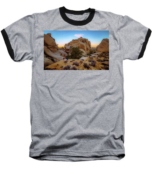 High Desert Pose Baseball T-Shirt
