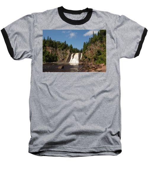 High Falls At Tettegouche State Park Baseball T-Shirt
