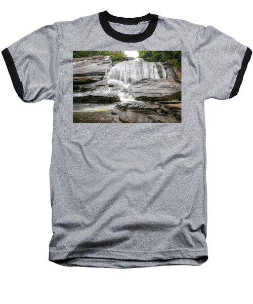 High Falls Of Dupont State Forest Baseball T-Shirt