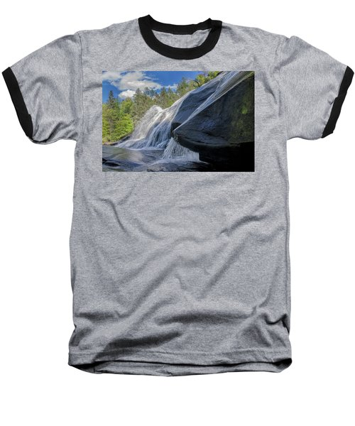Baseball T-Shirt featuring the photograph High Falls One by Steven Richardson