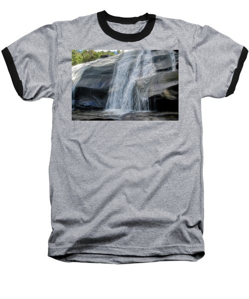 Baseball T-Shirt featuring the photograph High Falls Two by Steven Richardson