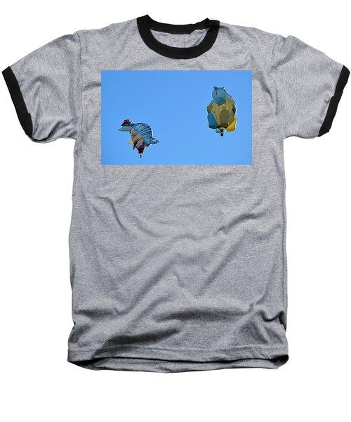 Baseball T-Shirt featuring the photograph High Jinx by AJ Schibig