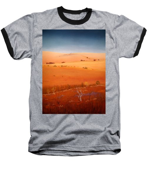 High Plains Hills Baseball T-Shirt by William Renzulli
