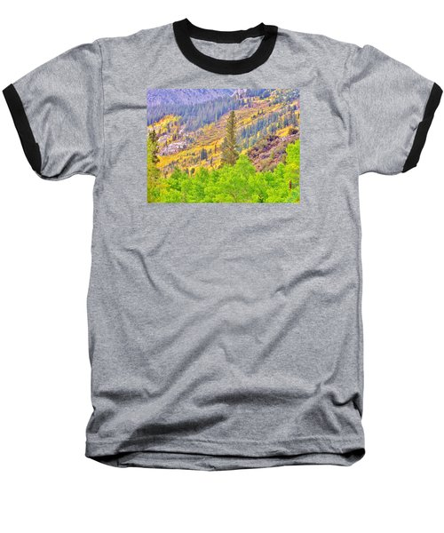 High Sierra Fall Colors Baseball T-Shirt