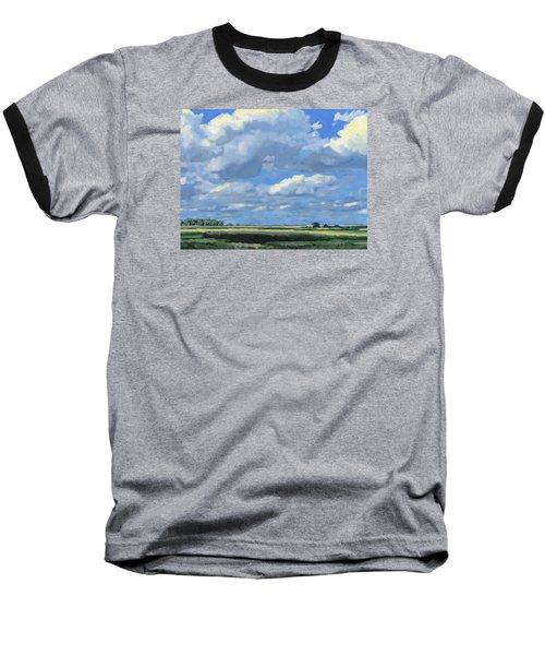 High Summer Baseball T-Shirt by Bruce Morrison