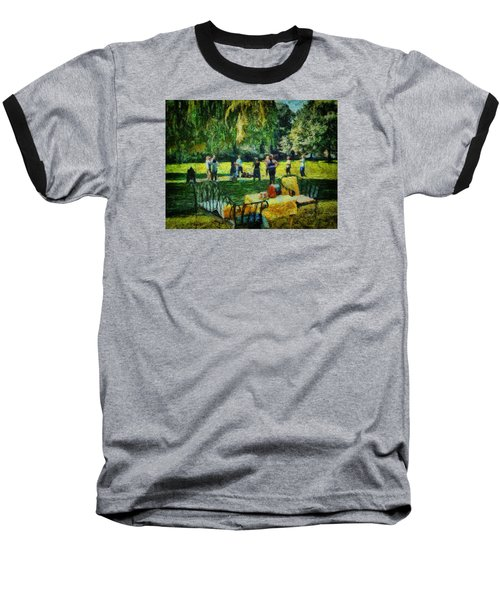 High Tea Tai Chi Baseball T-Shirt