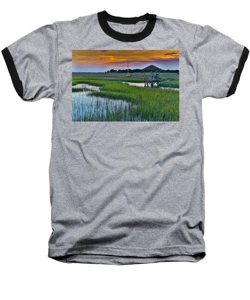 High Tide On The Creek - Mt. Pleasant Sc Baseball T-Shirt