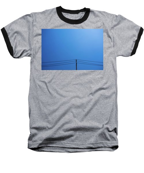 Baseball T-Shirt featuring the photograph High Voltage Power, Electric Pose by Jingjits Photography