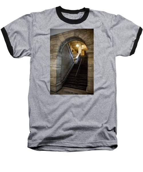 Baseball T-Shirt featuring the photograph Higher Knowledge by Allen Carroll