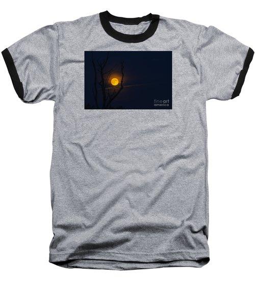 Highland Moon  Baseball T-Shirt by Thomas R Fletcher
