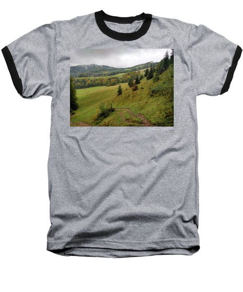Highlands Landscape In Pieniny Baseball T-Shirt