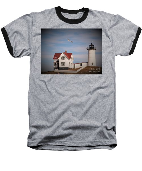 Highlighting The Nubble Light Baseball T-Shirt