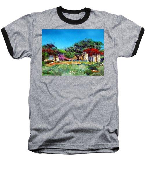 Highveld House Baseball T-Shirt by Tim Johnson