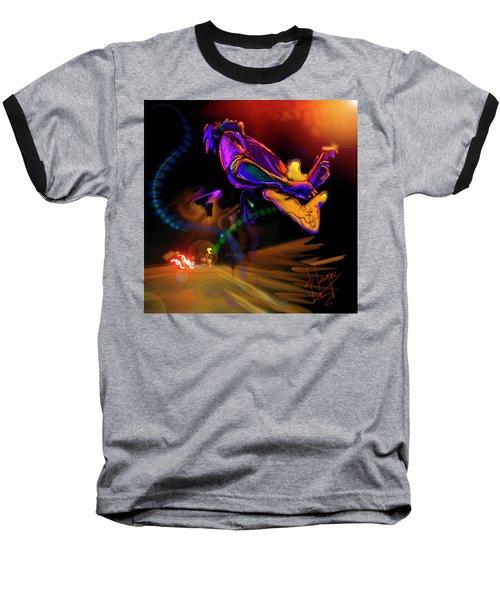 Highway Jam Baseball T-Shirt by DC Langer