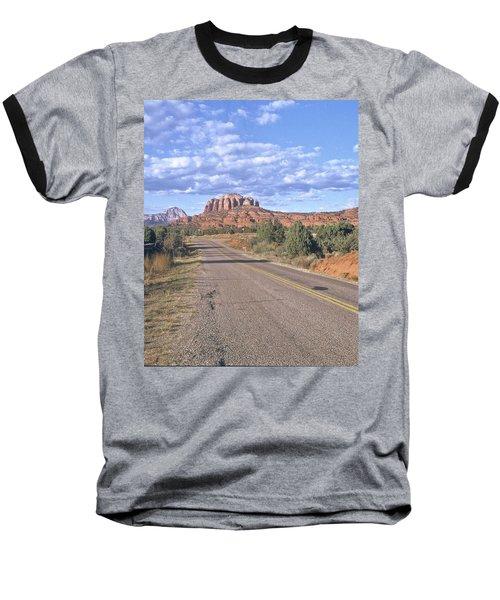 Highway To Sedona Baseball T-Shirt