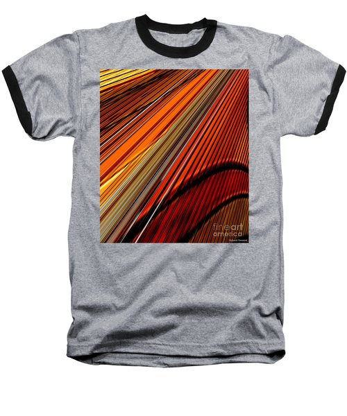 Highway To Sun Baseball T-Shirt by Thibault Toussaint