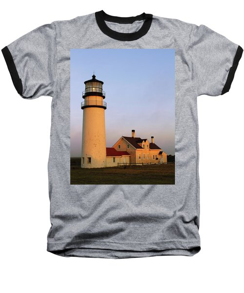 Baseball T-Shirt featuring the photograph Higland Lighthouse Cape Cod by Roupen  Baker
