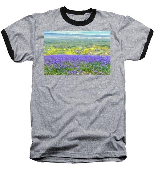 Hike To The Top Of Temblor Range Baseball T-Shirt