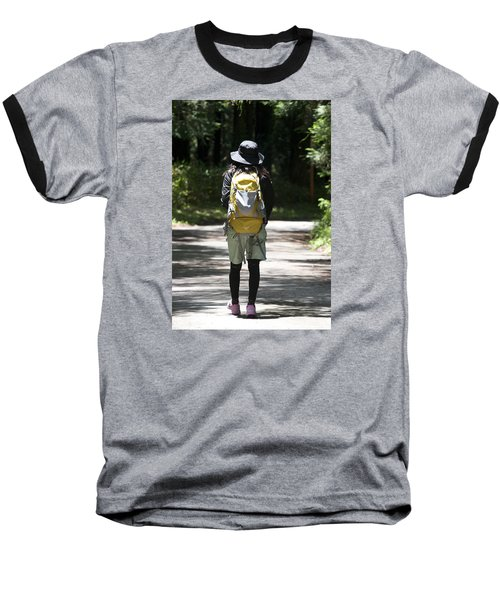 Hiker Baseball T-Shirt