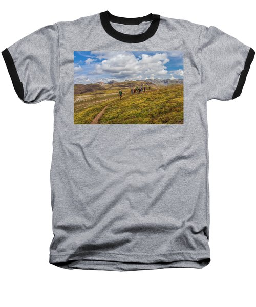 Hiking At 13,000 Feet Baseball T-Shirt