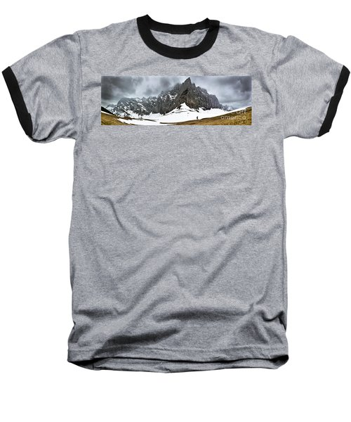 Hiking In The Alps Baseball T-Shirt