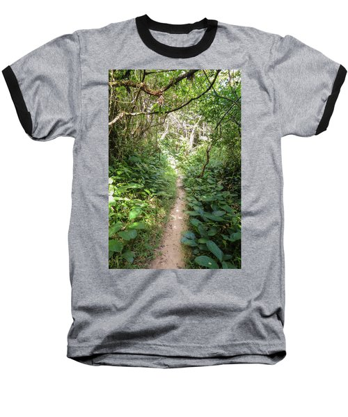 Hiking Path In The Atlantic Forest Baseball T-Shirt
