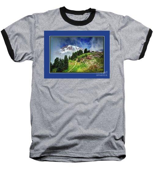 Hiking Rainier Baseball T-Shirt