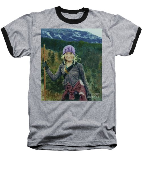Hiking The White Mountains Baseball T-Shirt