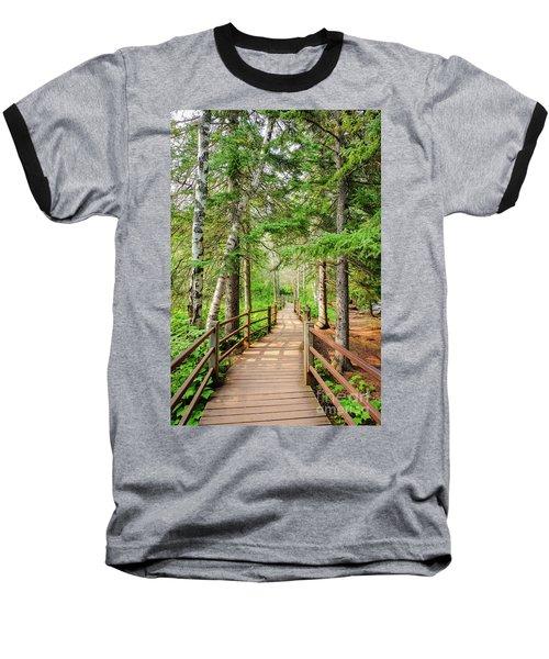 Hiking Trail Baseball T-Shirt