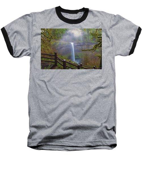 Hiking Trails At Silver Falls State Park Baseball T-Shirt