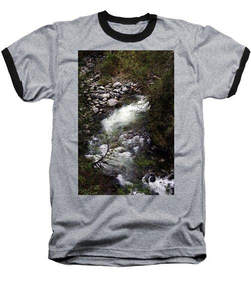 Hiking Wallace Falls#1 Baseball T-Shirt