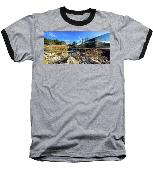 Hill Country Back Road Long Exposure #2 Baseball T-Shirt