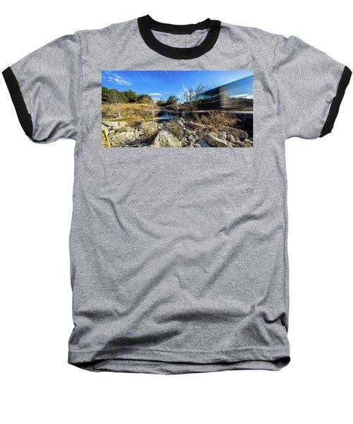 Hill Country Back Road Long Exposure #2 Baseball T-Shirt