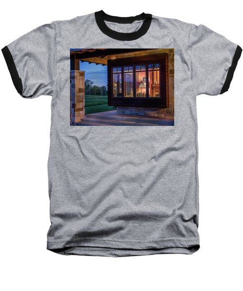 Baseball T-Shirt featuring the photograph Hill Country Living by James Woody